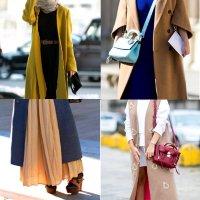 длинное пальто с чем носить