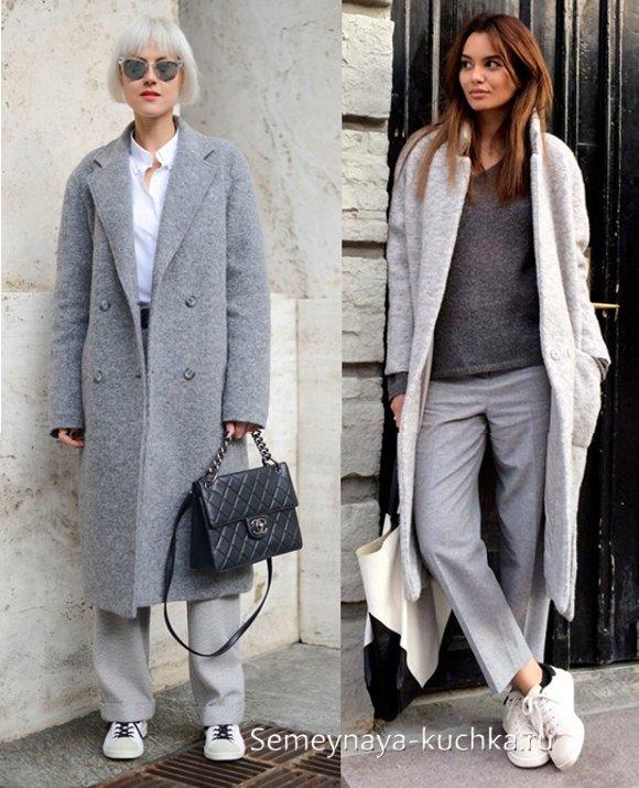 cc4f1ea16a05 ДЛИННОЕ пальто - 55 фото-советов с чем носить.   Семейная Кучка