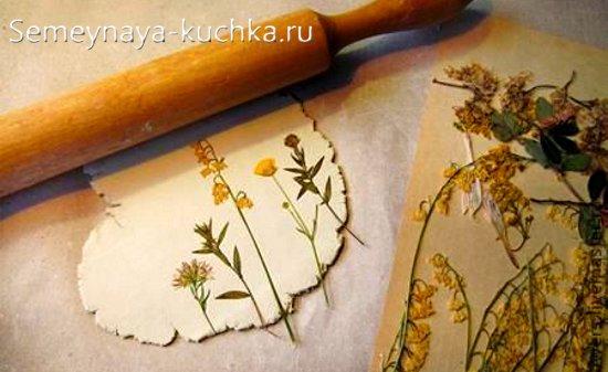 осенние поделки с цветами