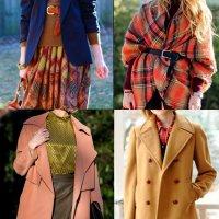 стиль одежды осенний образ