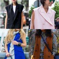 пальто без рукавов с чем носить