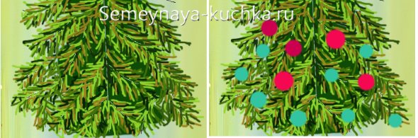 пошаговый мастер-класс рисунок елки на новый год