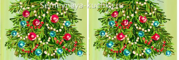 новогодняя елка пошаговый урок рисования