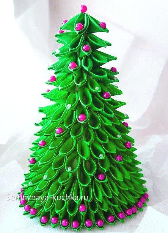 бумажная елка поделка