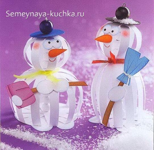 детские новогодние поделки своими руками