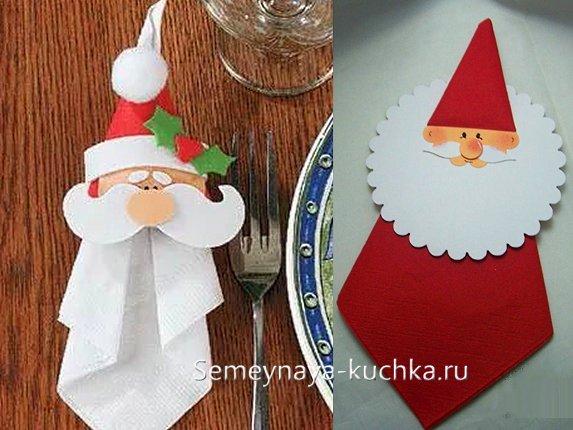 новогодние поделки салфетницы из бумаги