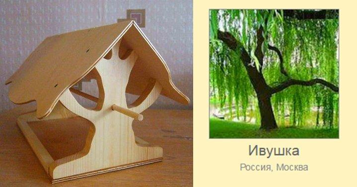 креативная кормушка для птичек