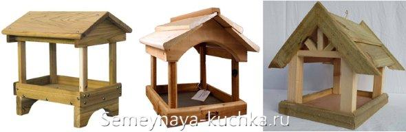 фронтон для птичьей кормушки