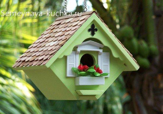 красивый домик для птиц