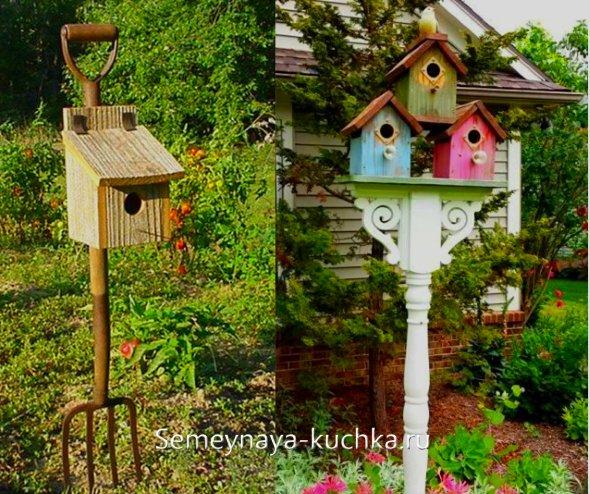 где разместить домик для птиц