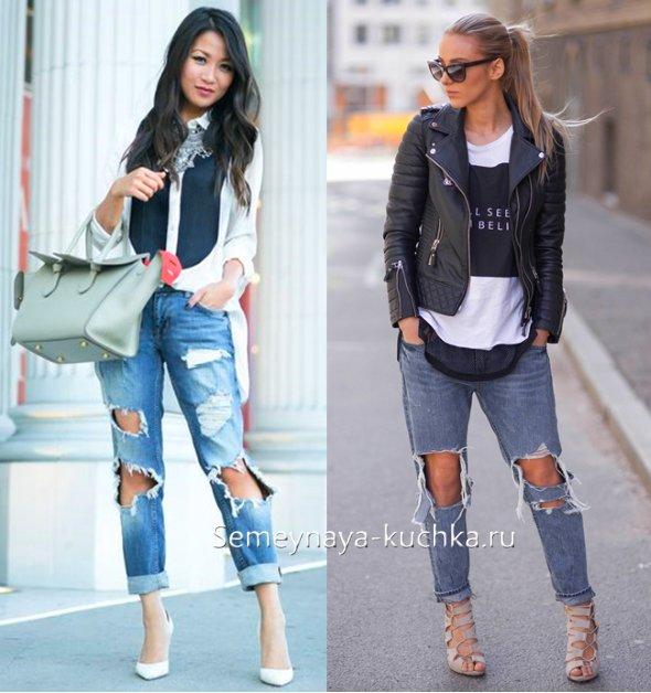 весенний стиль с джинсами