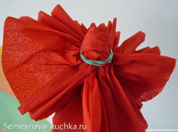 мастер-класс цветок из бумаги