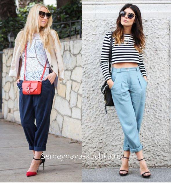 модные брюки на весну