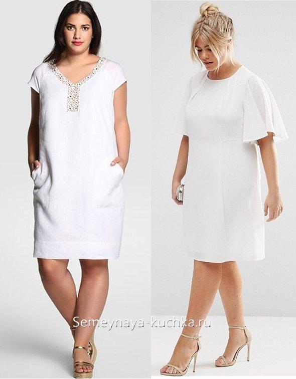 полная женщина в летнем платье