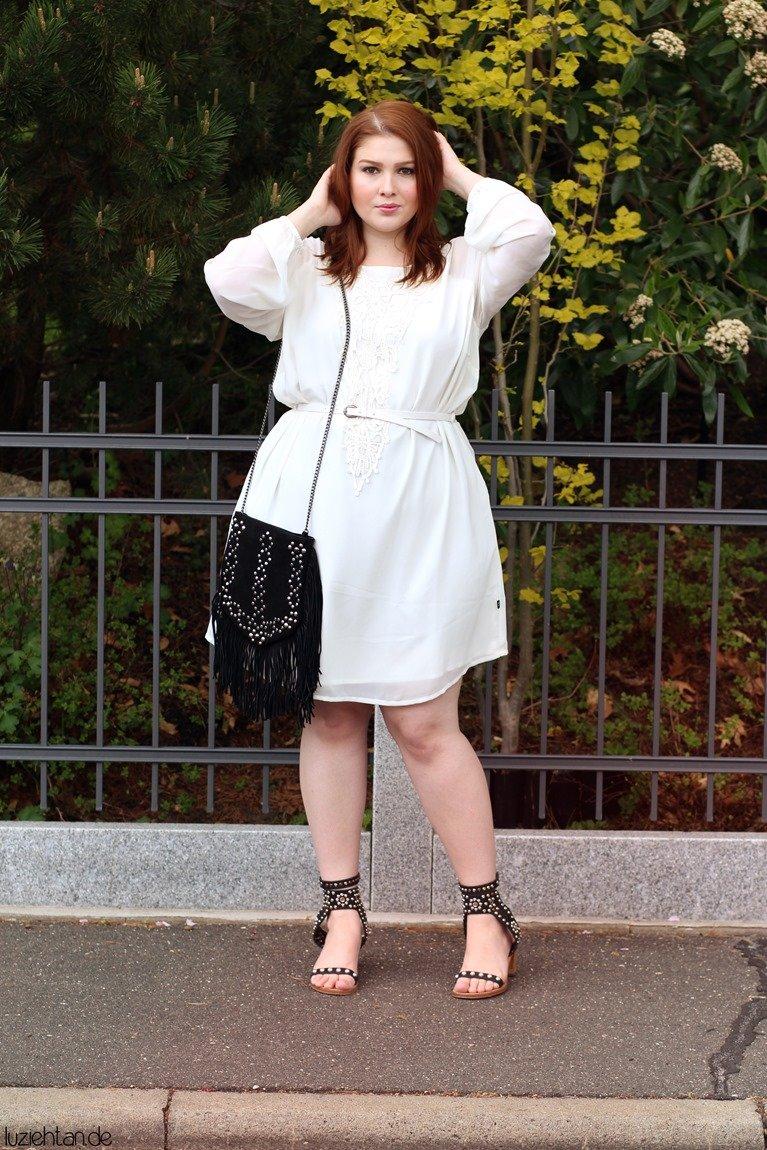 белое платье для полной женщины