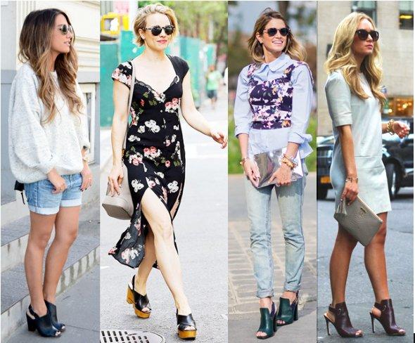 обувь мюли с чем носить