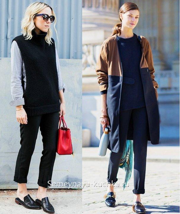 с чем носить модные мюли