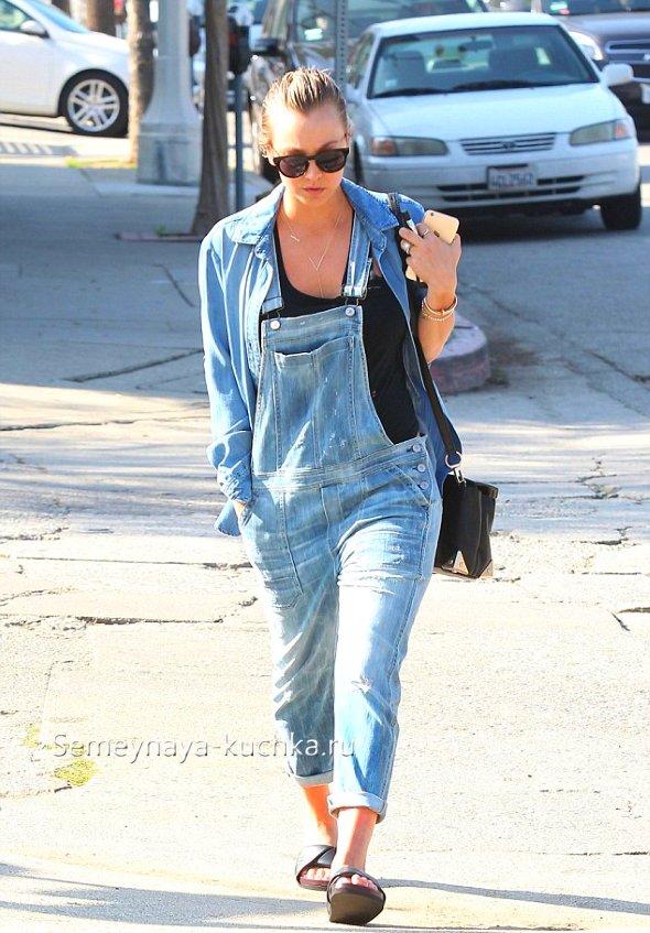 джинсовые комбинезоны-бойфрнеды