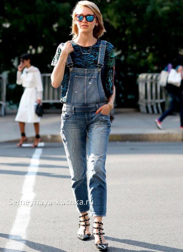 джинсовые комбинезоны-герлфренды
