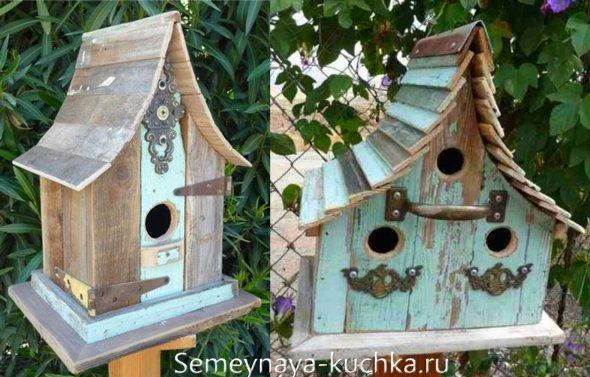 крыша на домик для птиц своими руками