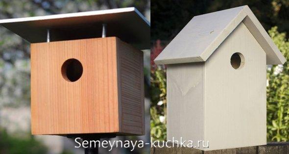 домики для птиц правила