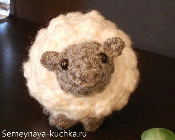как связать овечку