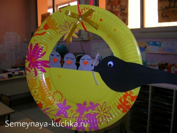 птицы поделки для детей