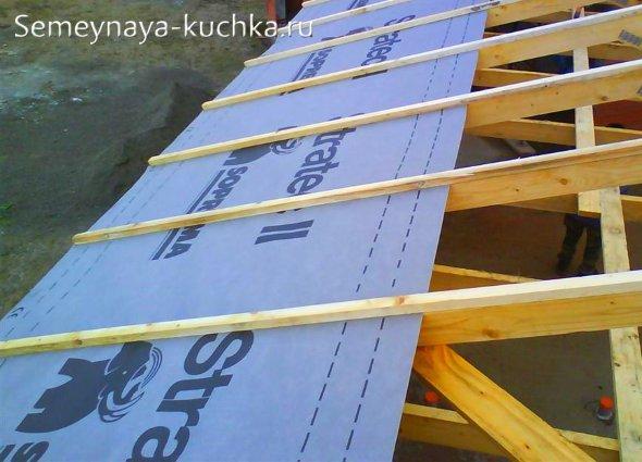 гидроизоляция крыши беседки на даче