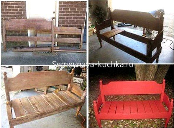 фото схема как сделать скамейку