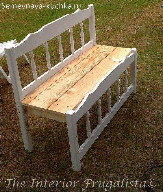 фото идея простой скамейки