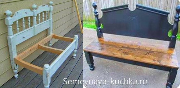 как быстро сделать скамейку