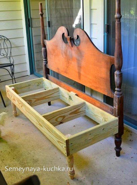 быстрый способ сделать скамейку