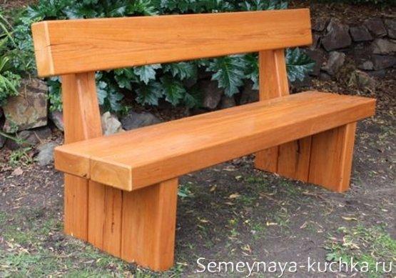 садовая скамейка для дачи