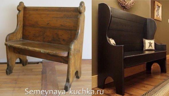 фигурная скамейка как сделать самому