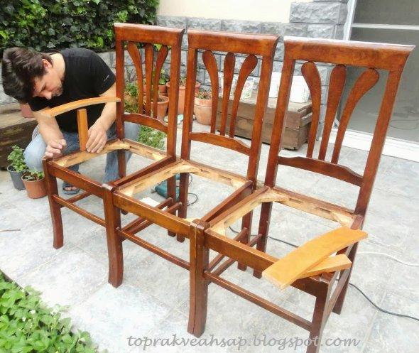 как сделать скамейку самому