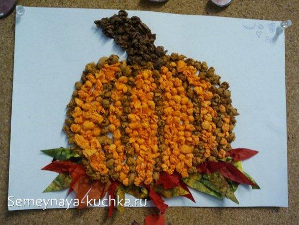 поделка на осень тыква