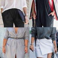 как скрыть живот одеждой