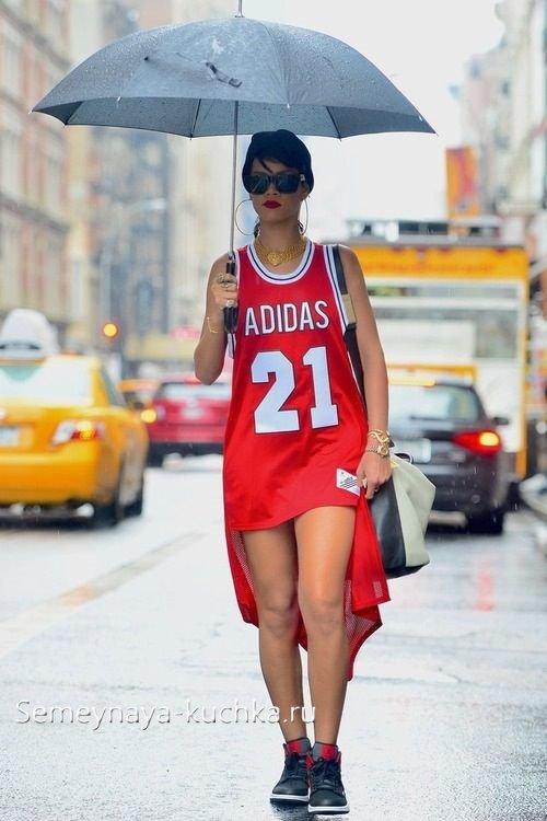 платья в стиле спортивный шик