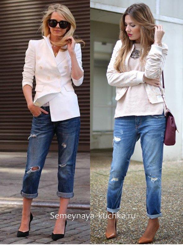 правильные джинсы бойфрнеды