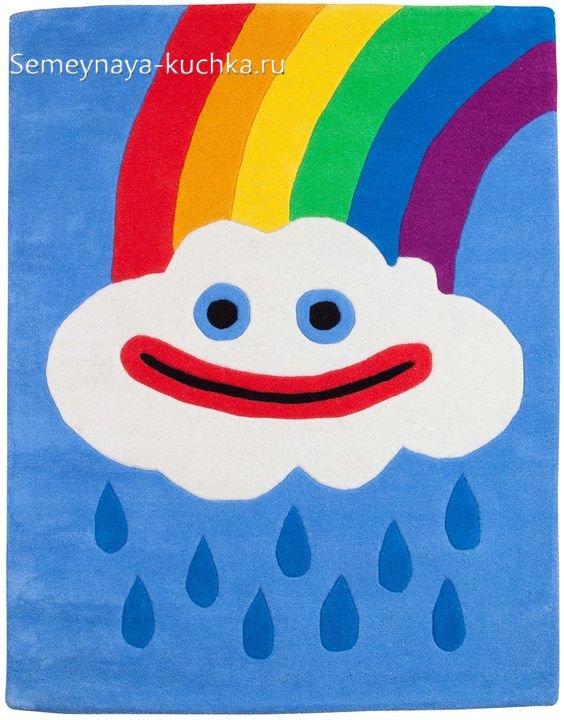 поделка детская осенний дождь