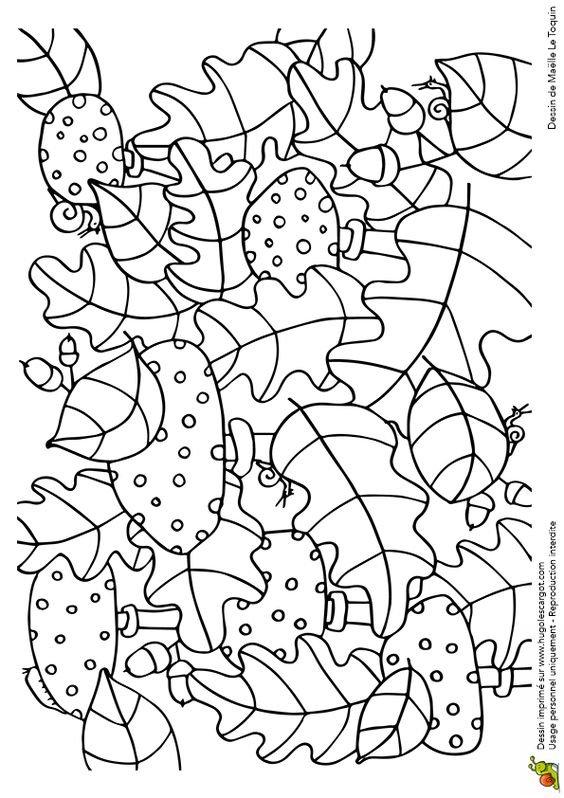 раскраска грибы детская