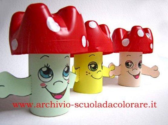 поделка гриб для детского сада