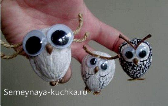 совы поделки своими руками