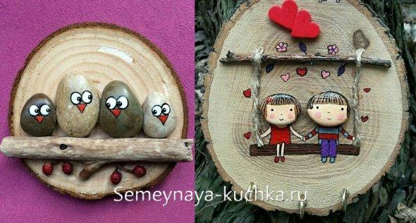 поделки из дерева для детей