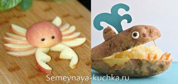 детские поделки из картошки