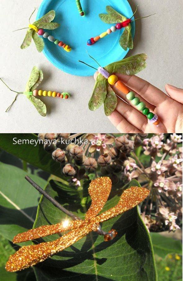 поделки из природных семян