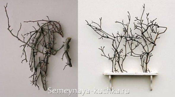поделки красивые из природного материала