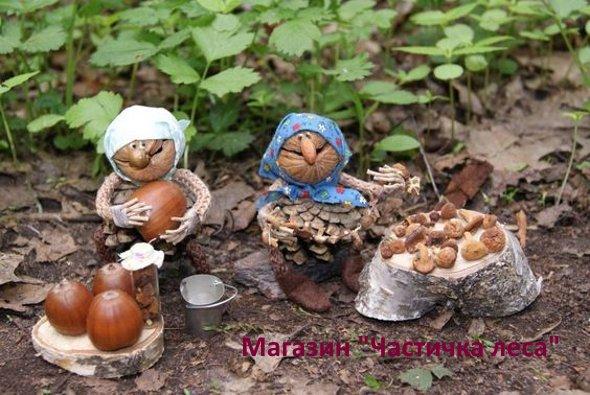 поделки из орехов своими руками