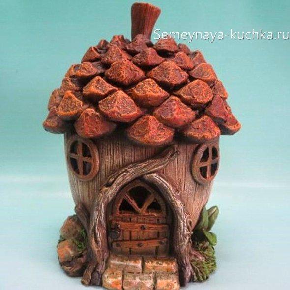 домик для феи из природного материала