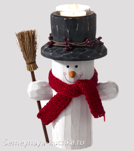 друг деда мороза снеговик